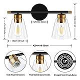 2-Light Vanity Lights Fixtures, Bathroom Lights