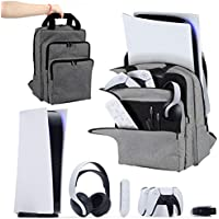 Travel Carry Backpack Back Bag for PS5 Console And PlayStation 5 Accessories Storage Proctection Backpack Messenger Bag…