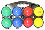 Beach/Lawn Game- 4 Player Economy Bocce Ball Set with Carry Case by FunStuff