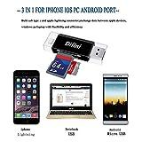 Difini Micro SD Card Reader, TF Memory Card Camera