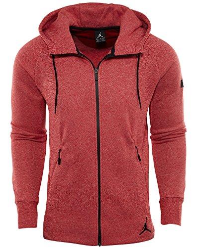Jordan Air Icon Full Zip Fleece Men's Hoodie/Jacket (Medium)
