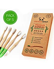 Bamboo toothbrushes whitening Eco-Friendly Charcoal Infused Quality toothbrushes