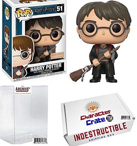 Funko Pop! Harry Potter With Firebolt Broom, Hot Topic Exclu