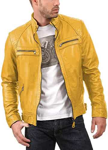 Black, Classic Jacket 1501637 Laverapelle Mens Genuine Lambskin Leather Jacket