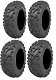 Full set of Kenda Bear Claw (6ply) 25x8-12 and 25x10-12 ATV Tires (4)