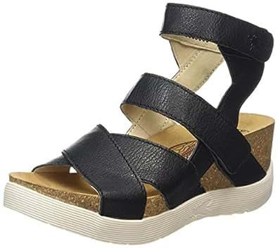 FLY LONDON Women's Wege669Fly Black Mousse Shoe