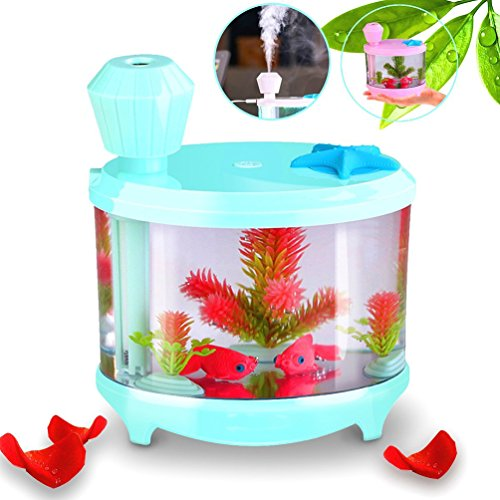 yjy-460ml-aquarium-air-purifier-humidifier-fake-fish-bowls-aquatic-pets-home-decor-colorful-led-nigh
