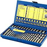 Irwin Industrial Tools 11135 Screw Extractor and Drill Bit Set, 35-Piece