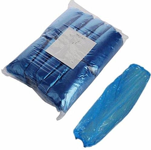 Permanent Arms (CHENGYIDA 100pcs/bag Tattoo Disposable Sterilization Blue Arm Sleeves For Permanent Makeup Medical Machine Gun Kit Set Supply)