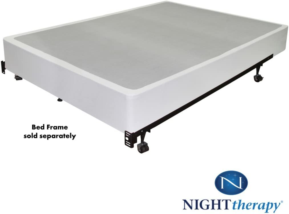 Night Therapy 9 Inch High Profile Bi-Fold Box Spring, Split Queen