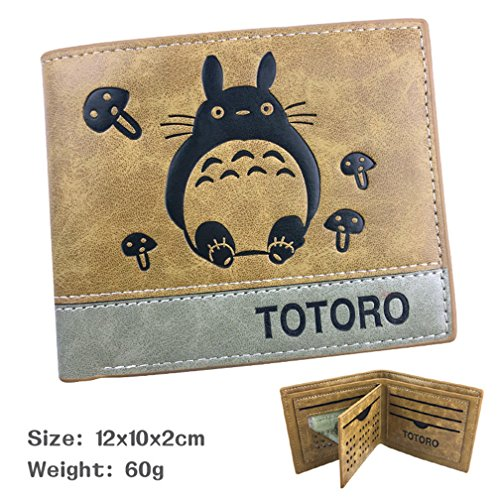 YOYOSHome Japanese Anime Cosplay Short Purse Wallet Clip Billfold (My Neighbor Totoro 2) by YOYOSHome (Image #1)