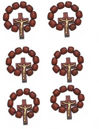 Lot Catholic Finger Rosary Crucifix product image