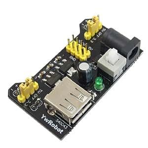 3.3V 5V Protoboard Suplemento de Alimentación Módulo para MB102 Sin Soldar