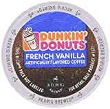 keurig 12 pack - Dunkin Donuts French Vanilla - Box of 12 Kcups for Use in Keurig Coffee Brewers