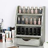 BTY Essential Oils Organizer Storage Rack Wooden 45