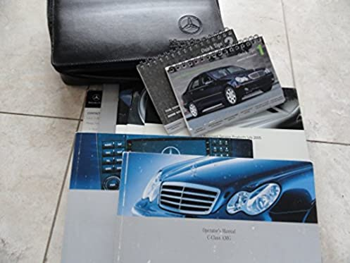 2006 mercedes benz c55 amg owners manual with navigation c 55 rh amazon com CLK55 AMG E55 AMG