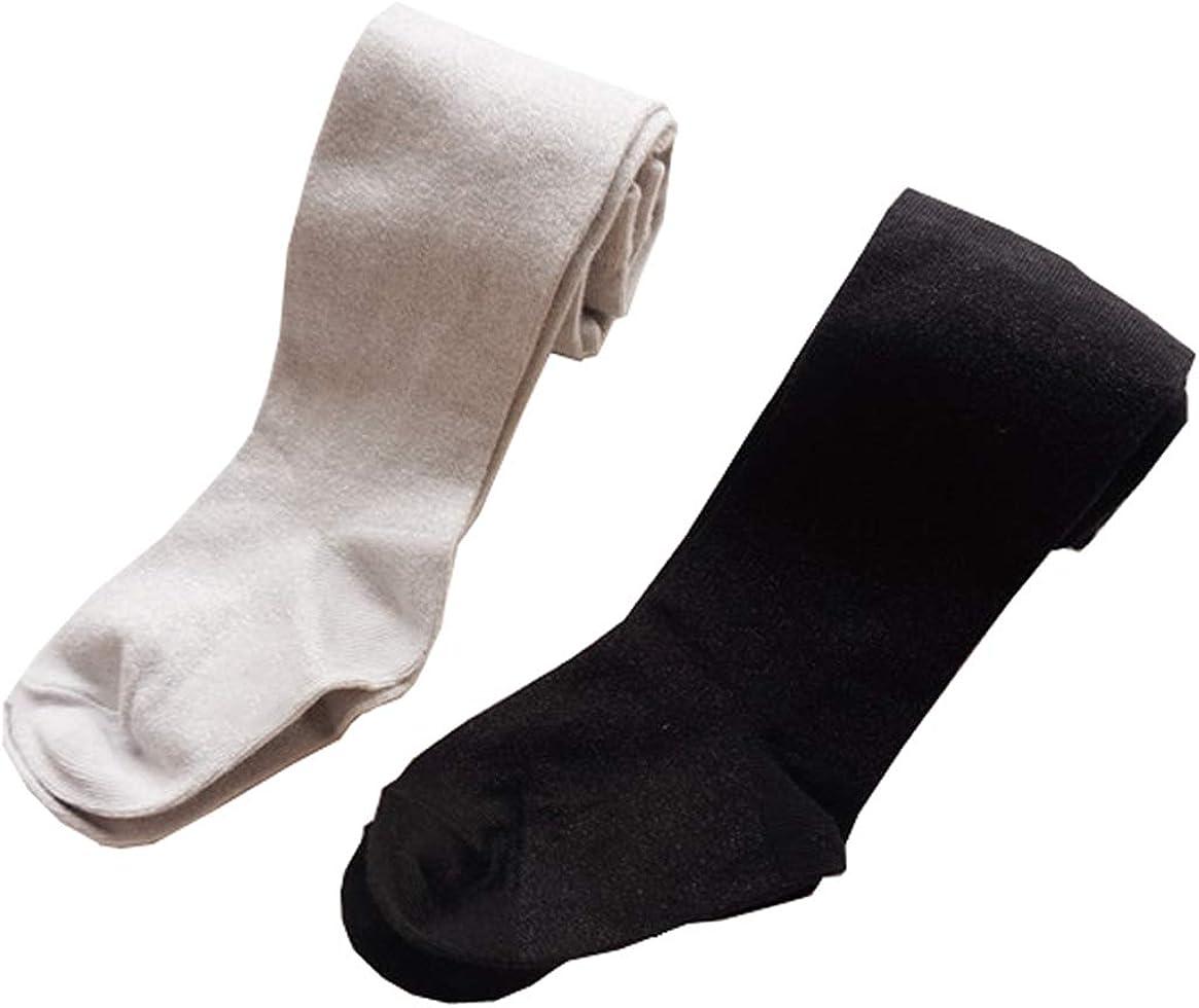 2PCS Little Girls Tights Toddler Silver Sequin Leggings Bling Knit Stockings