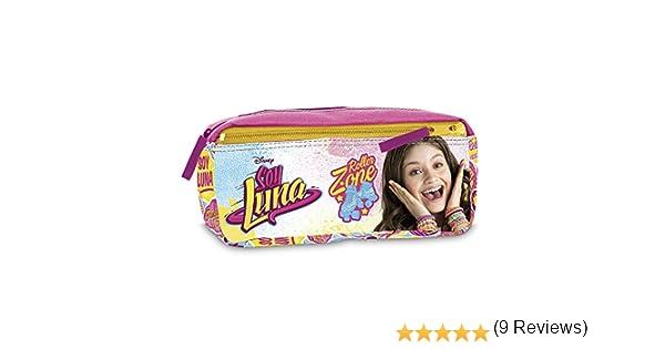 Soy Luna - Estuche de Dos Cremalleras (Giochi Preziosi YL921000): Amazon.es: Juguetes y juegos