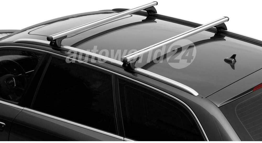 Dachträger Relingträger Aluminium Für Ford Focus Kombi Baujahr 06 2011 05 2018 Mit Geschlossener Reling Auto