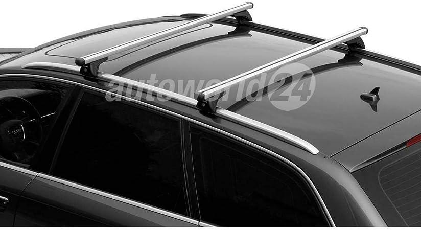 Dachträger Relingträger Alu Für Peugeot 308 Sw Baujahr 05 2014 Mit Geschlossener Reling Auto