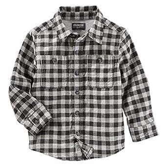 OshKosh B'gosh Button Front Plaid Shirt for Boys - Multi Color