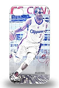 Excellent Iphone 4/4s Case Tpu Cover Back Skin Protector NBA Los Angeles Clippers Chris Paul #3 ( Custom Picture iPhone 6, iPhone 6 PLUS, iPhone 5, iPhone 5S, iPhone 5C, iPhone 4, iPhone 4S,Galaxy S6,Galaxy S5,Galaxy S4,Galaxy S3,Note 3,iPad Mini-Mini 2,iPad Air )