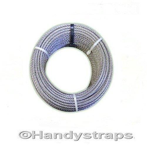 5 Metres Galvanised Wire Rope 2mm 7x7 Westward Rope and Wire