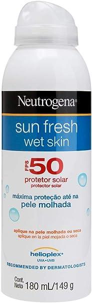 Protetor Solar Wet Skin Sun Fresh FPS 50, Neutrogena