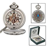 Native American Indian Pocket Watch & Chain