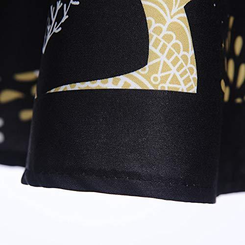 stampa Abito lungo Near Gonna Donna Abito Cut Vita Abbigliamento nera ampia natalizi chic aderente Body sera Accessori Elastic da qWXTxAgYw