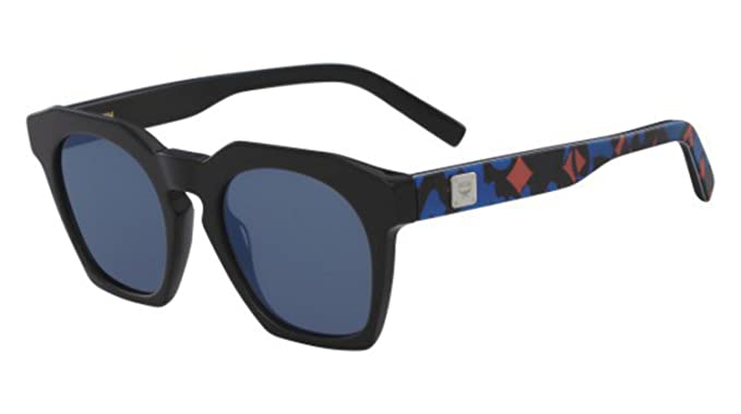 Amazon.com: anteojos de sol MCM 656 S 021 Negro/Camuflaje ...