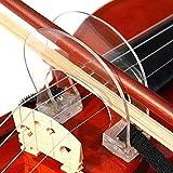1/2 4/4 Violin Bow Straighten Collimator Corrector Tool Guide Violins Collimator Adjuster Corrector for Beginner Training Exercise