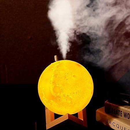 Purificador de Aire con Luz de Noche Luna Humidificador ...