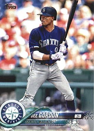 buy popular 31639 0a20a Amazon.com: 2018 Topps Baseball Series 2#590 Dee Gordon ...