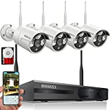 Best Bullet Surveillance Security Systems - 【2018 Update】 HD 1080P 8-Channel OOSSXX Wireless System/IP Review