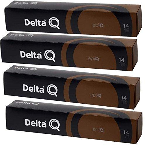 Pack Xl 40 EPIQ- Café muy intenso. Intensidad 14 - Cápsulas Delta Q - 4 X10 capsulas,EPIC: Amazon.es: Alimentación y bebidas