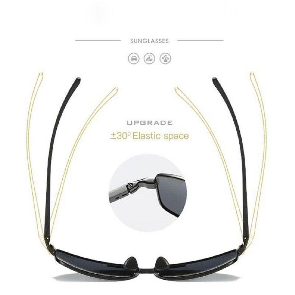 Aluminum Mens Polarized Sunglasses Womens Small Frame Glasses HD Driving Eyewear