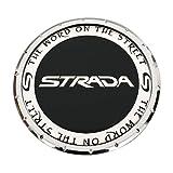 Strada Wheels 81192085F-1 PD-CAP-Strada Chrome Wheel Center Cap