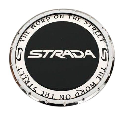 (Strada Wheels 81192085F-1 PD-CAP-Strada Chrome Wheel Center Cap)