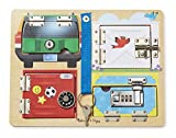 Best Educational Boards - Melissa & Doug Locks and Latches Board Wooden Review