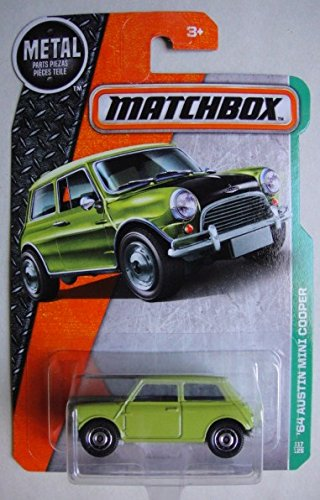 Amazoncom Matchbox 2016 64 Austin Mini Cooper 117125 Light