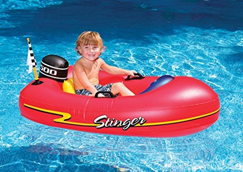 "48"" Water Sports Inflatable Stinger Speedboat Swimming Pool Raft Float"