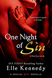 One Night of Sin (After Hours Book 1)