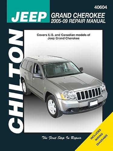 jeep grand cherokee 2005 2009 chilton s total car care repair rh amazon com 2001 Jeep Cherokee XJ Jeep Cherokee XJ Interior
