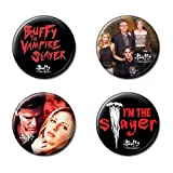 Ata-Boy Buffy the Vampire Slayer Assortment #1 Set of 4 1.25' Collectible Buttons