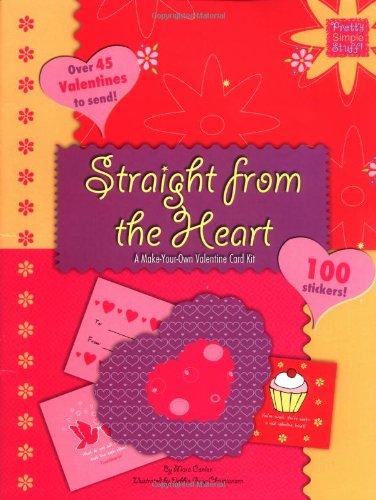 Straight From The Heart: A Make Your Own Valentine Card Kit (Pretty Simple  Stuff): Mara Conlon: 9780843116465: Amazon.com: Books