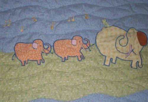 John Lennon Baby Blanket Quilt - Real Love / Musical Parade Keepsake by Lennon (Image #5)