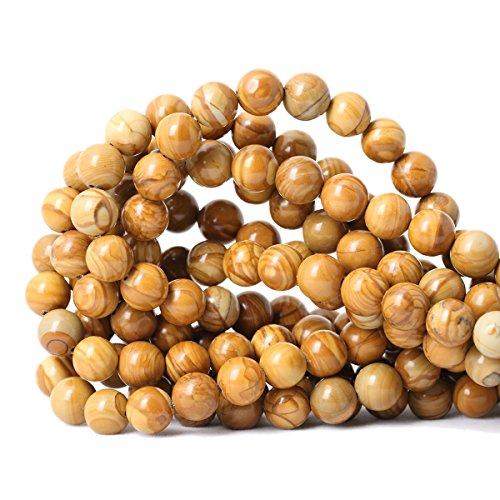 wood beads 10mm - 4