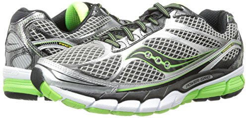 Saucony ride7 Grey/Black/Green