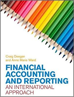 Book Financial Accounting and Reporting: An International Approach (UK Higher Education Business Accounting)